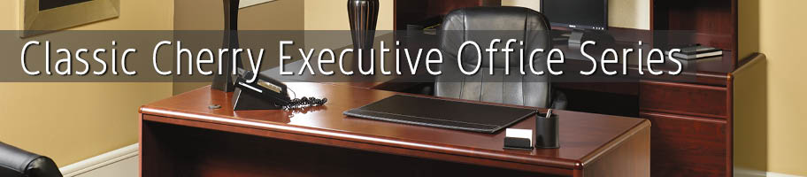 Classic Cherry Executive Office