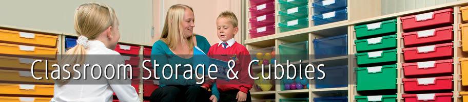 Classroom Storage & Cubbies