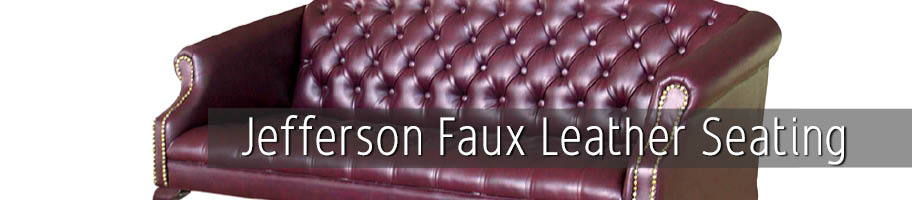 Jefferson Faux Leather Seating