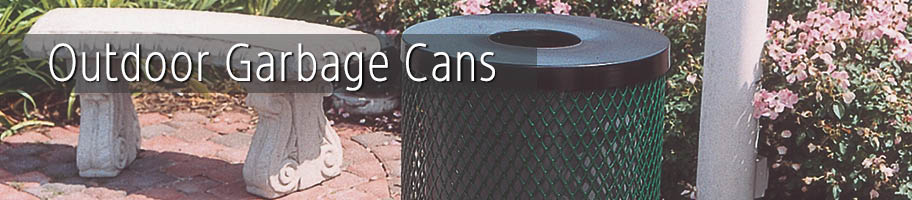 Outdoor Garbage Cans