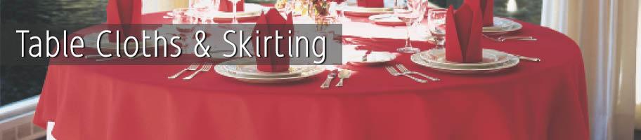 Table Cloths & Skirts