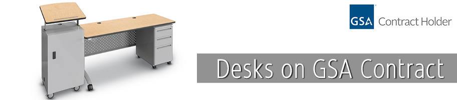 GSA Desks | K-Log, Inc.