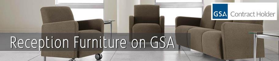 GSA Reception Furniture | K-Log, Inc.