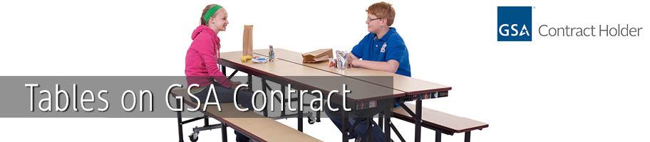 GSA Tables | K-Log, Inc.