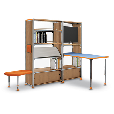 Aspire Library Shelving and Seating