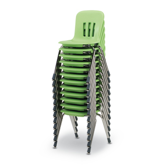 Stackable light-weight chairs