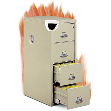 Fireproof Hanging-File Cabinet