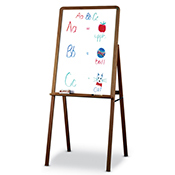 Portable easel stand whiteboard with Melamine Surface