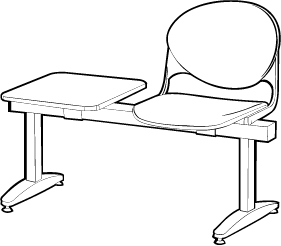 Beam Seating With Table
