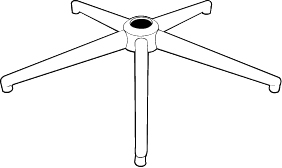 5-Prong Base Support