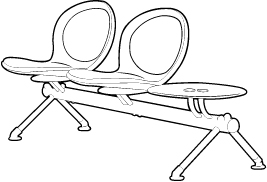 2 Person Beam Seating