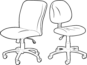 Big and Tall Chair vs. Standard Task Chair