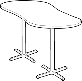 peanut-shaped_bistro_table