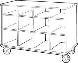 Open-Shelf Storage