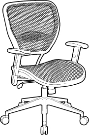 Chair with AirGrid Back/Seat