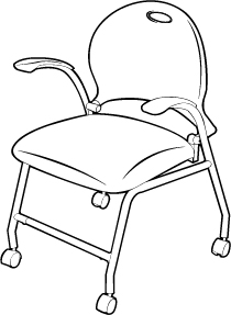 Folding Chair With Arms