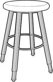 Hardwood Seat