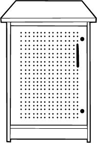 Technology Storage Cabinet