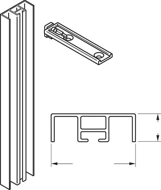 Optional Wall Starter Kit
