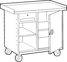 Workbench Cart
