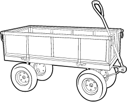 Steel Crate Wagon
