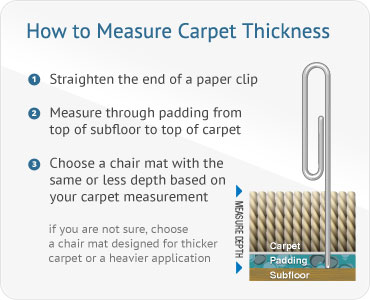 carpet pad thickness. Chair Mats Ing Guide Carpet Pad Thickness N